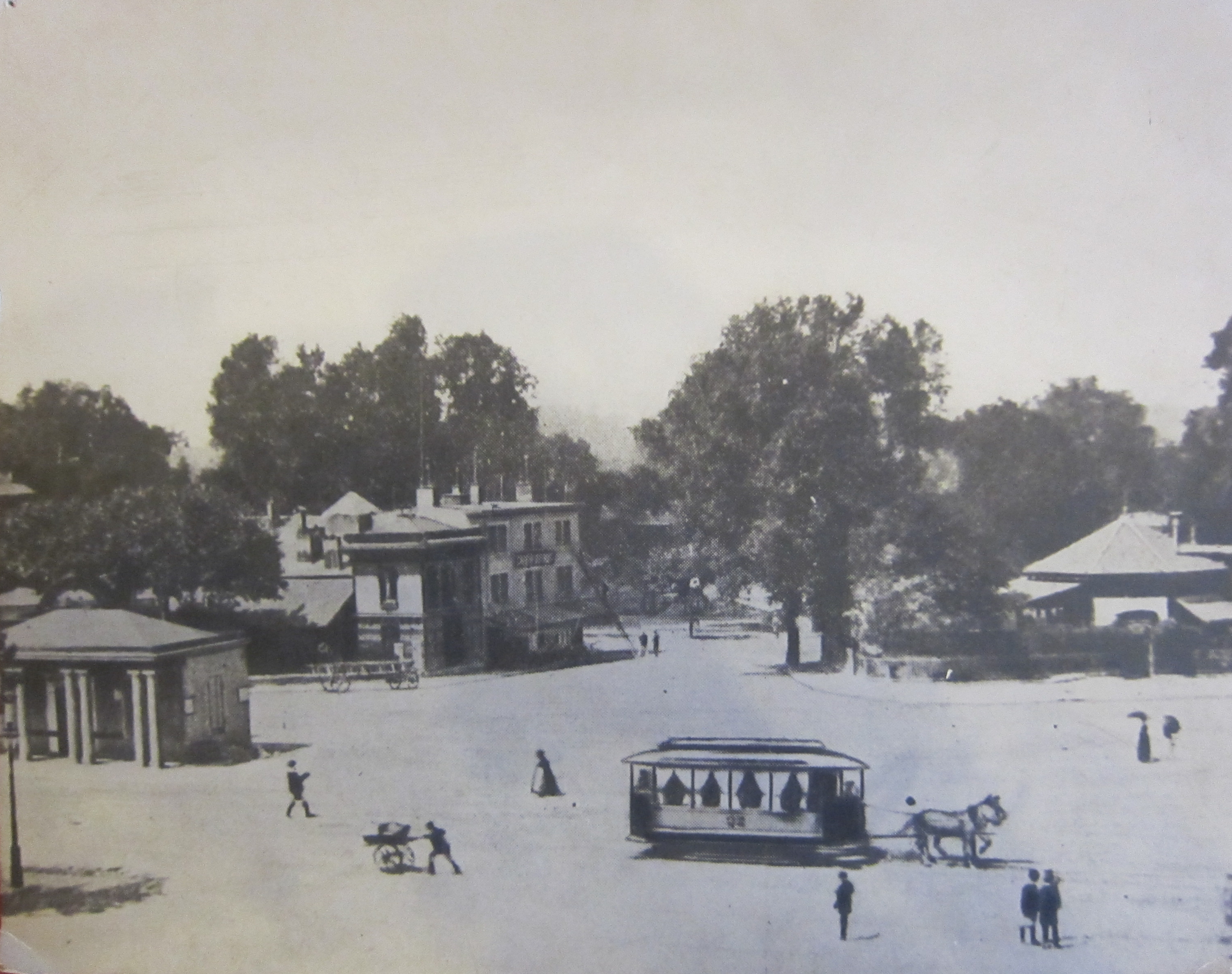 Le Rond-Point de Plainpalais en 1893